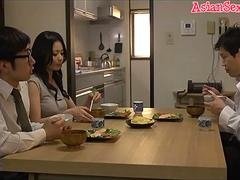 Horny Japanese girl Nana Aida in Hottest big tits, couple JAV movie