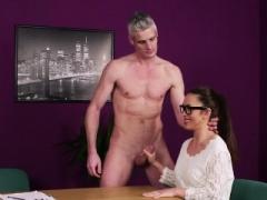 Brit dominatrix gives head dork