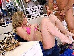 Shoe Salesman Gets Lucky