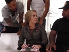 Cock-starved ladies getting gang-banged on cam