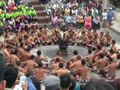 The Kecak and fire dance was amazing. The creampie was good too.