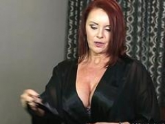 Brunette mom i`d like to fuck foot with cum on love hole