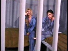 Blonde gr&ma in jail still has the oral & having an intercourse skills