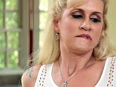 Blonde Wife Cheats in front of Husband