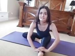 Danica M. live doing yoga