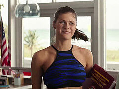 Alexandra Daddario from Baywatch 10 Min Loop (Slow-Motion)