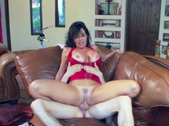A hot floozy has her clothes ripped off and plus her twat licked