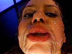Magdalena Cum Bath - German Ball cream Gals