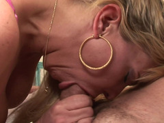 Blonde Sexually available mom whore is ready to get nailed by a tattooed pornography stud