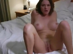 Horny bigtitted bubble ass wife makes love