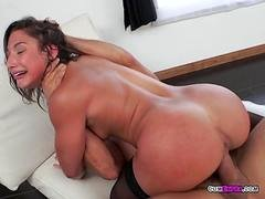 Luscious Bitch Abella Danger Gets Impaled By Mailman