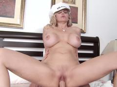 Julia Ann making love the huge dick milk man and plus cheating