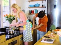 Carly Rae Her Kitchen Helper Hard Penis