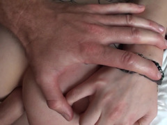 Astonishing dame is getting her asshole penetrated so hard