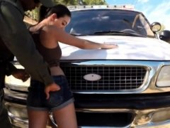 Police female hd Latina Kitten Fucked By the Law
