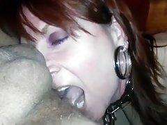 Nasty Mom i`d like to fuck Gives Rimjob