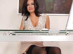StockingsVideos - Sins Of A Private Secretary Vanessa Decker