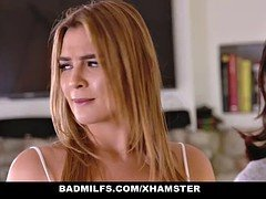 BADMilfs - Step-MOM Jacks Off and furthermore Has an intercourse Step-Son