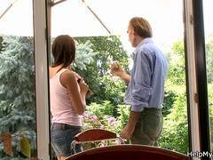 Immature wife swap in the countryhouse