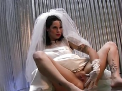 Broad Wedding Dress Digital still Shoot