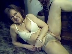 64 year old glamorous sexy granny with long hair