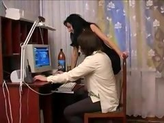 Russian hot aunt and plus youthful nephew - 1