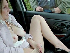 Dogging in Seamed Pantyhose Unit 2