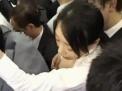 Asiatic Office Lady Groped in Bus (Anyone know this JAV Porn?)