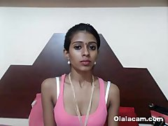 Impeccable slim indian teen hottie