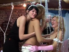 A masked party with chicks becomes utterly hot in this fine film