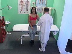 Aroused doctor offers prescribes sex to hot patient