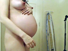 Sizeable Pregnant Belly - Piece II