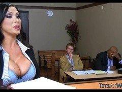 Milk sacks in the Courtroom