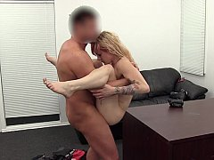 Little gal mishand alsoled and also fucked on office table