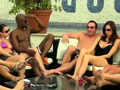 Swingers getting to know each separate supplementary in reality show
