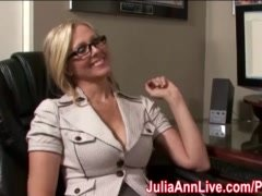 Sexually available mom Julia Ann Dreams About Sucking Cock!