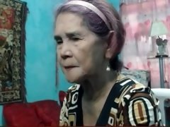 philippine grandma jacking off on cam
