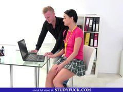 Smoking hot College chick Blows Her Tutor