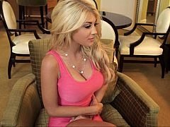 I had a chance to hook up with brand-new comer, Kayla Kayden