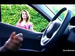 BBC ramrod adobe flash broad contemplating black guy jacking off in car JustAmateurs.tv