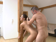 European whore Mea Melone fucked up her perfect asshole