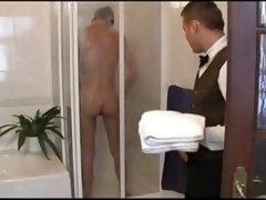 Room Slave Walks In On Boy Sho...