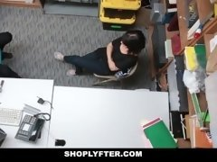 Shoplyfter - Vitiate 18-19 year old Blackmailed & Fucked
