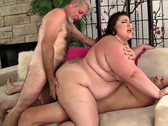 Obese double penetration