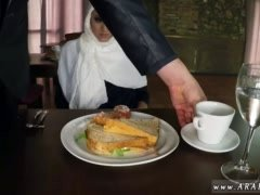 Adobe flash bus arab Hungry Lady Gets Food and Fuck