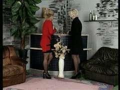 Bea Dumas Encounters Carmen Herzog. Firm Mature German Group Sex!