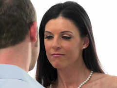 Flawless beauty India Summer takes a big dick doggystyle
