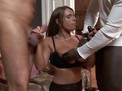 sexy susi in 3-way action