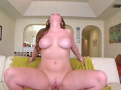 Bigtitted floozy Kelsey gets her overweight fuck hole drilled deeply