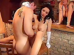 A unforgettable French have an intercourse session in front of hungry stares of the public